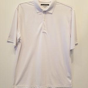 Greg Norman Play Dry White Polo Shirt